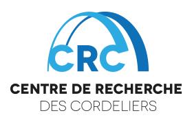 CENTRE DE RECHERCHE DES CORDELIERS